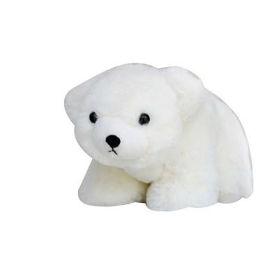 Polar Bear Stuffed Toy, Cute White Bear Doll Grab Doll Plush Toys for Children