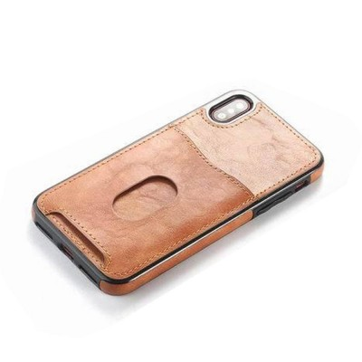Detachable Leather Wallet Case for iPhone 7/8 Plus, iPhone X, High Quality Two-in-one Phone Case