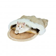 Multifunctional Cat Litter with Arch Design, Durable & Convenient Storage Cattery for Four Seasons Universal