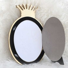 Crown Shaped Picture Frames, Rectangle Bachelor Style Wall Hanging/Desktop Photo Frame