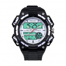 Men's Dual-replay Sport Watch, Waterproof & Fashionable Watch with Strap for Outdoor Use