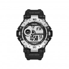 Men's Shockproof Sport Watch with Resin Strap, Digital Waterproof Watch for Outdoor Use