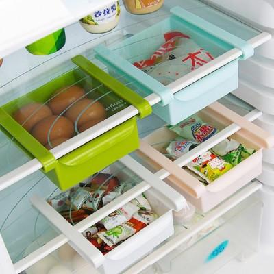 Slide Design Refrigerator Food Crisper, Commodity Shelf, Drawer Type PP Storage Box