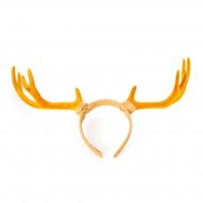 Elk Antlers Hair Band Head Hoop for Birthday Anniversary Cartoon Polyethylene Plastic Lovable Head-wear