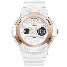 Multi-Functional Quartz Watch for Girls, Cool Hip Hop Electronic Sport Watch