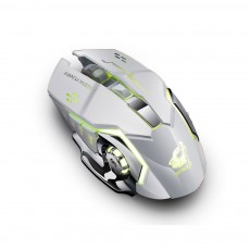X8 Rechargeable Wireless Gaming Mouse Mice, Silent Click Cordless Mouse with 6 Smart Buttons, 2.4GHZ