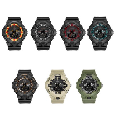 Outdoor Electronic Sports Watch, Multi-function Water Resistant Digital Quartz Wrist Watch