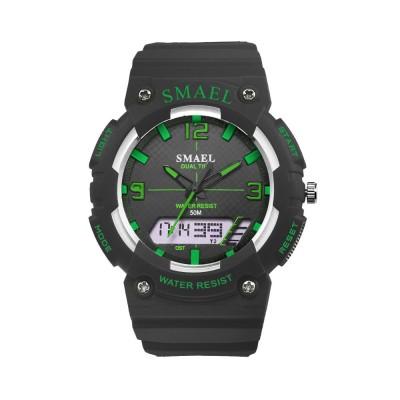 Student Watch Digital Pointer Dual Display Electronic Watch Luminous Alarm Clock