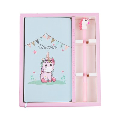 Cute Cartoon Notepads with Pen, Fancy Notepads & Pens Set Gifts for Girls