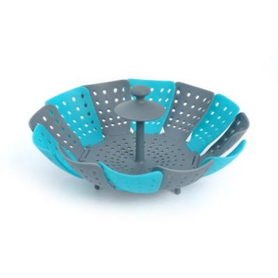 Steamer PP Folding Rack for Placing Foods Fruit Kitchen Tool Plastic Basket