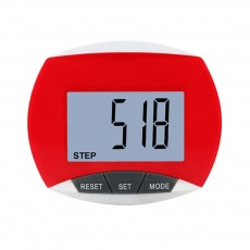 Small Acrylic Pedometer for Calculating Step Multifunction Electronic Sport Device