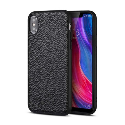 Durable Fashionable Leather Protective Case Mobile Cover for Xiaomi 8/ 8se/ Max3/ 6X