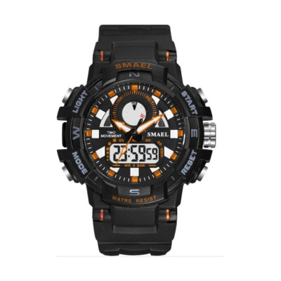 SMAEL Sports Multifunctional Electronic Watch Fashionable Outdoor Couple Watch Waterproof Sports Watch