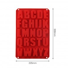 Large Letter Molds For Baking, Silicone Letter Cake Molds