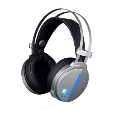 Headset for Video Games Luminescence Metal with Microphone High Quality Professional E-sports Headphones