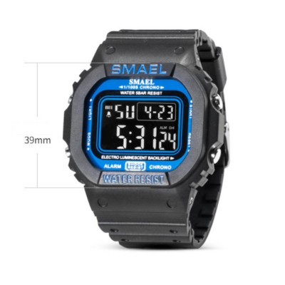 Sports Watch for Men Camouflage Color Outdoor Sports Waterproof Shockproof Simple Digital Watch