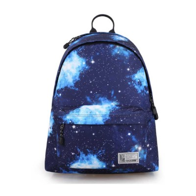 Starry Sky Backpack with Superior SBS Zipper, Fashionable Laptop Backpack for Traveling, Outdoors Shopping