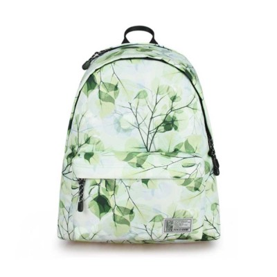 Women Backpack Polyester Durable with Zinc Alloy Zipper Waterproof Fashionable Women Pack-sack
