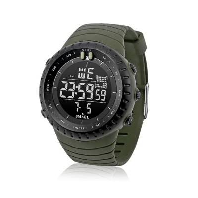 SMAEL Electronic Watch for Men & Women, Fashionable LED Dual Display Outdoor Multifunctional Sports Watch