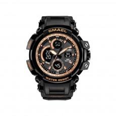 Electronic Quartz Outdoor Sports Watch for Men Waterproof Multifunctional Stylish Watch