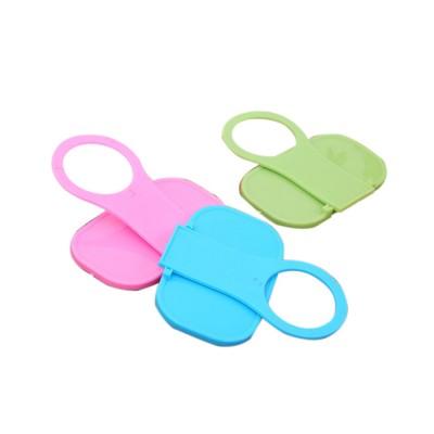 Creative Foldable Mobile Phone Charging Bracket Holder, Plastic Smart Phone Immobile Wall-Mounted Supporter Hanger
