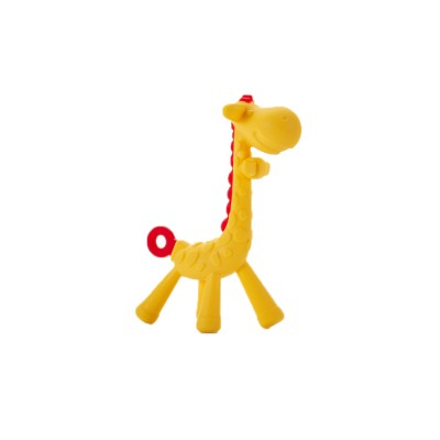 9e7eca05c4f Cute Giraffe Baby Teether, Soft and Safety Silicone Baby Teething Toy,  Chewable Molar for Infants
