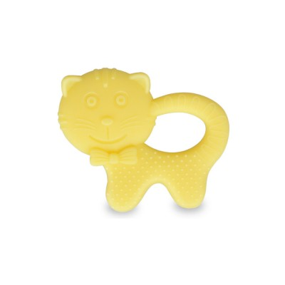 Cartoon Silicone Baby Teether, Animal Shape Baby Chew Toy with Massage Granules, Soft and Safety Molar for Infants