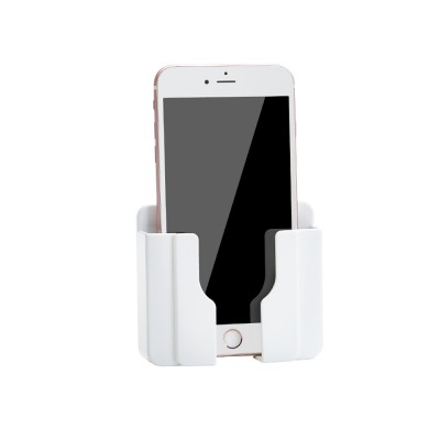 Wall-mounted Universal Smart Phone Free Stiletto Holder, Minimalist Solid ABS Mobile Phone Supporter