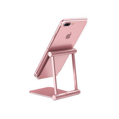 Aluminum Alloy Metal Flexable Tablet Phone Stand Holder, Desktop Foldable Adjustable Kickstand for Universal