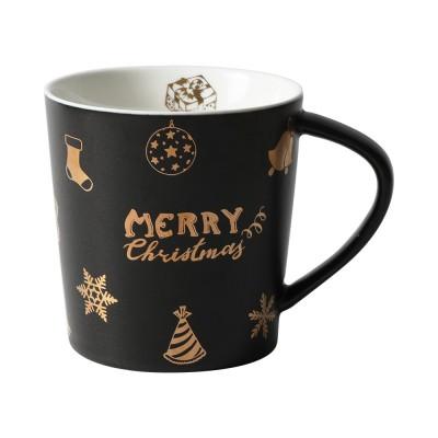Christmas Couple Mug, Female Creative Nordic Mug, Large Capacity Ceramic Cup, Coffee Cup