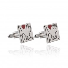 Zinc Alloy Texture French Cufflink, Lettering Men' Sleeve Nail with Dripping Oil & High-end Electroplating
