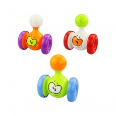 Funny Colorful Solid Plastic Pulley Tumbler Toy, Infants Babies Delicate Early Education Toy with Sound Effect