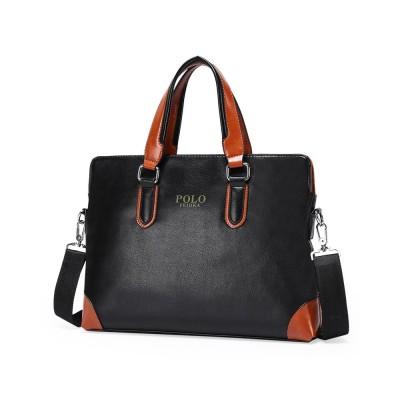 Single Shoulder Bag with Comfortable Hand Belt, PU Leather Large Capacity Inclined Shoulder Bag