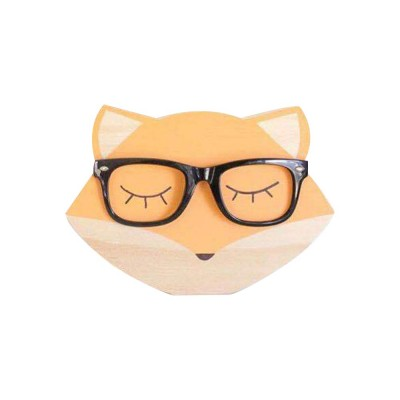 Rabbit Bear Fox Wood Craft Furniture Ornament Baby Kids Room Accessories Nordic Decoration Photography Prop