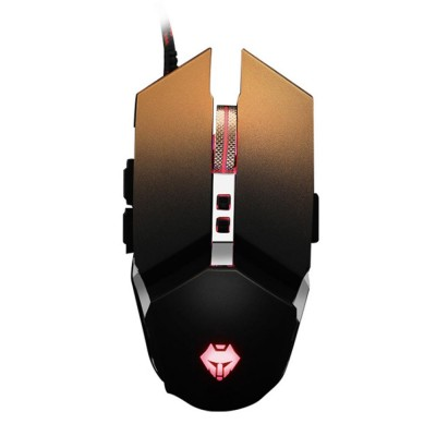E-sports Game Mouse with Adjustable 4-gears & No Backseat Game Machine Programming Standard, Support to PUBG Machine