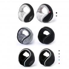 Cold-proof Downy Earmuffs for Winter, Portable Folding Ear Protectors for Both Men and Women Long Velvet Design