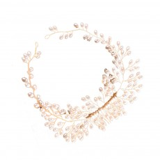 Latest Euramerican Style Hairpin for Brides, Pearl Hair Decoration In Vogue, Tuck Comb Accessories for Wedding Dress
