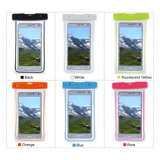 Diving Swimming Purpose Waterproof PVC Phone Case, High-end Transparent Phone Case for Outdoor Activities