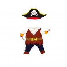 Pirate Costume for Dogs, Halloween Days Dog Clothes Pet Costumes