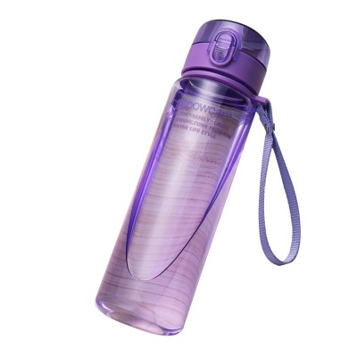Portable Plastic Space Bottle of Sports Style for Summer, Creative Powcan Cup Children Cup for Students' Use PC Cups