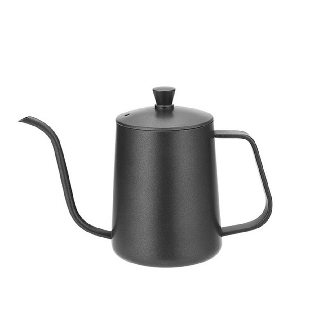 New-style Coffee Pot with Cover for 600ML Capacity Drip Coffee Maker Coffee Cup Teflon Hand Drip Coffee Urn