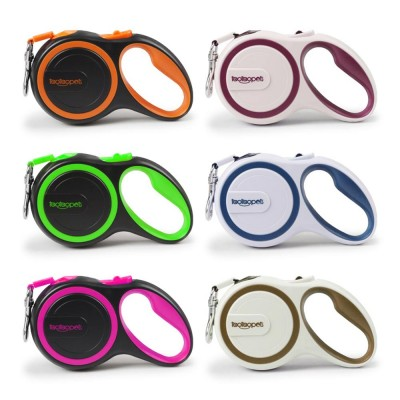 Automatic Retractable Dog Traction Rope Safe And Convenient Multicolor Dog Pet Products