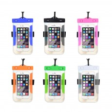 Universal Waterproof Anti-dust Phone Case, Transparent PVC Diving Touch Screen Phone Case for iphone7/6s