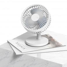 Children Rechargeable Desktop Fan, USB Portable Handheld Mini Noiseless Fan for Office, Dormitory
