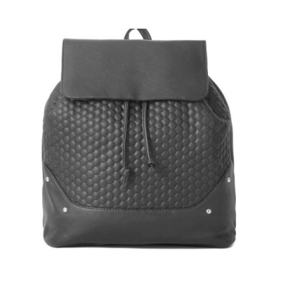 Pu Leather Vertical Square Shoulder Bag, Retro Style Women's Large Capacity Multi-functional Backpack