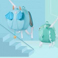 Anti-lost Small Children's Backpack, Boys' and Girls' Shoulder Bag, with H-shaped Adjustable Shoulder Belt