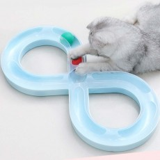 Cat  Track Toy With Anti-slip Pad, Environmental Pp Material Pet Toy, A Wide Variety Of Colors