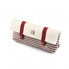 High-quality Canvas Fabric Students' Pencil Case, Small Fresh and Lovely Stationery Storage Box