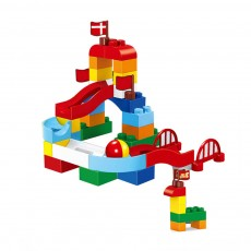 Children's Enlightenment Granule Building Blocks, Inserting Blocks, Baby Puzzle Early Learning Non-toxic Environmental Toy Building Blocks
