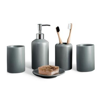 Five-piece Bathroom Set, Porcelain Bathroom Accessory Set, Bathroom Products Shower Gift Box